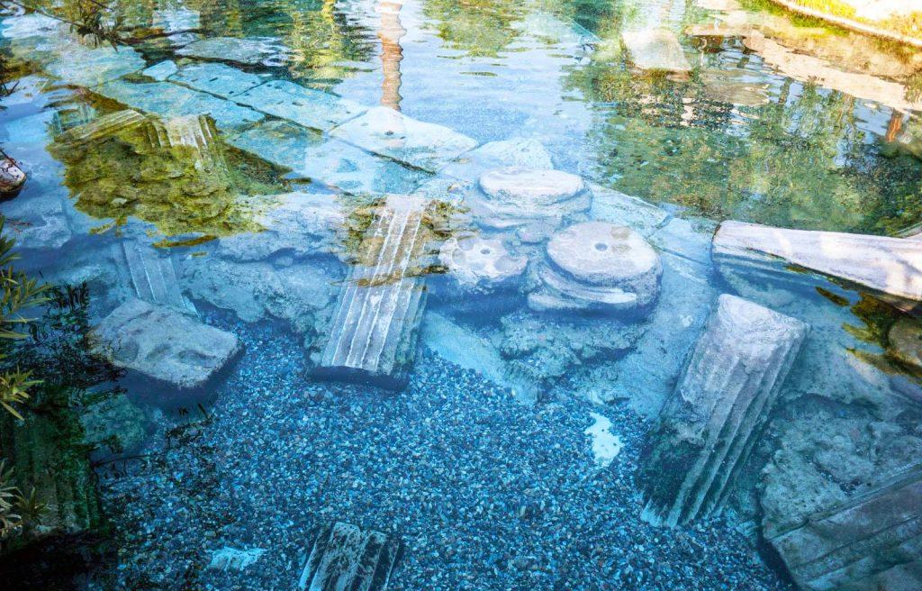 Kaplıcalar, Pamukkale