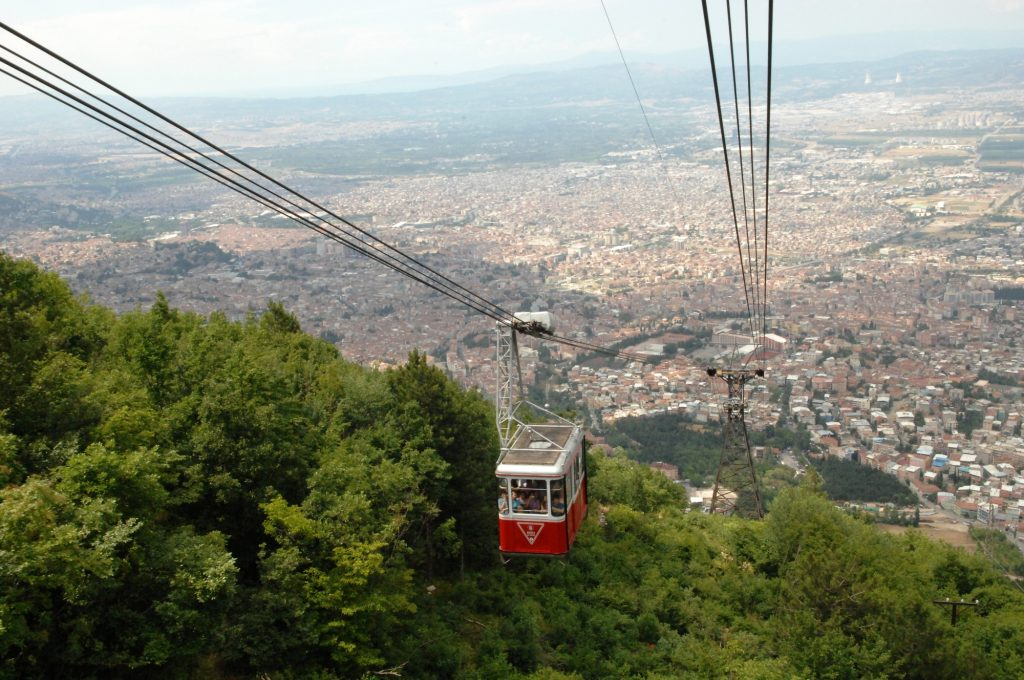 Teleferik, Bursa