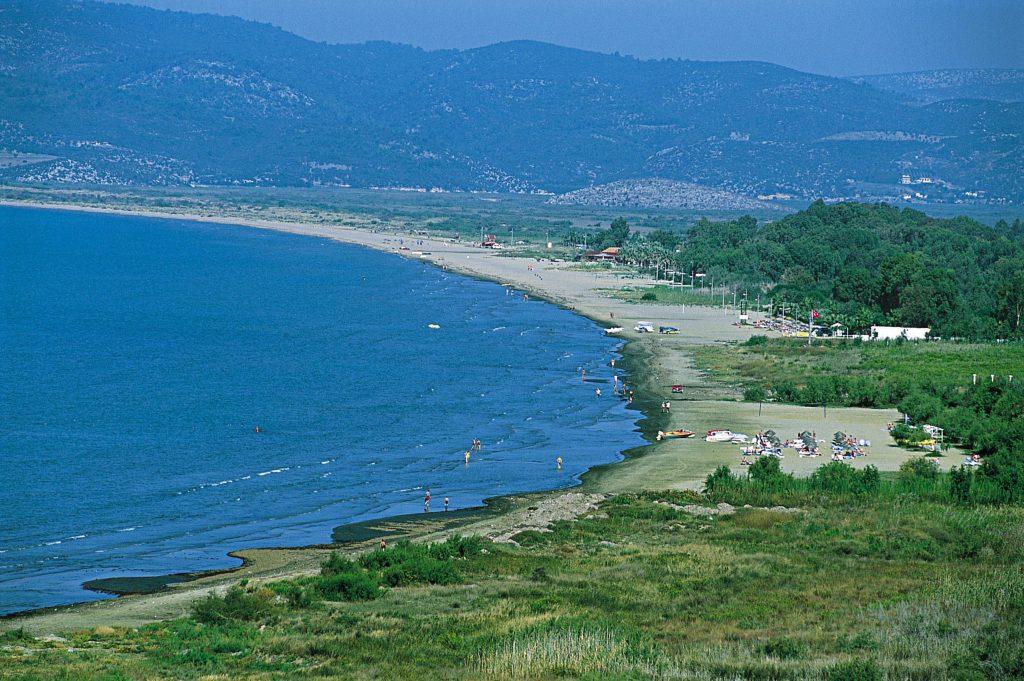 Pamucak Plajı, İzmir