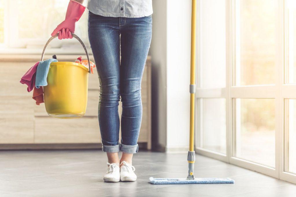 Ev temizliği işi