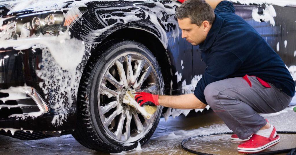 Otomobil yıkama - Jant yıkama