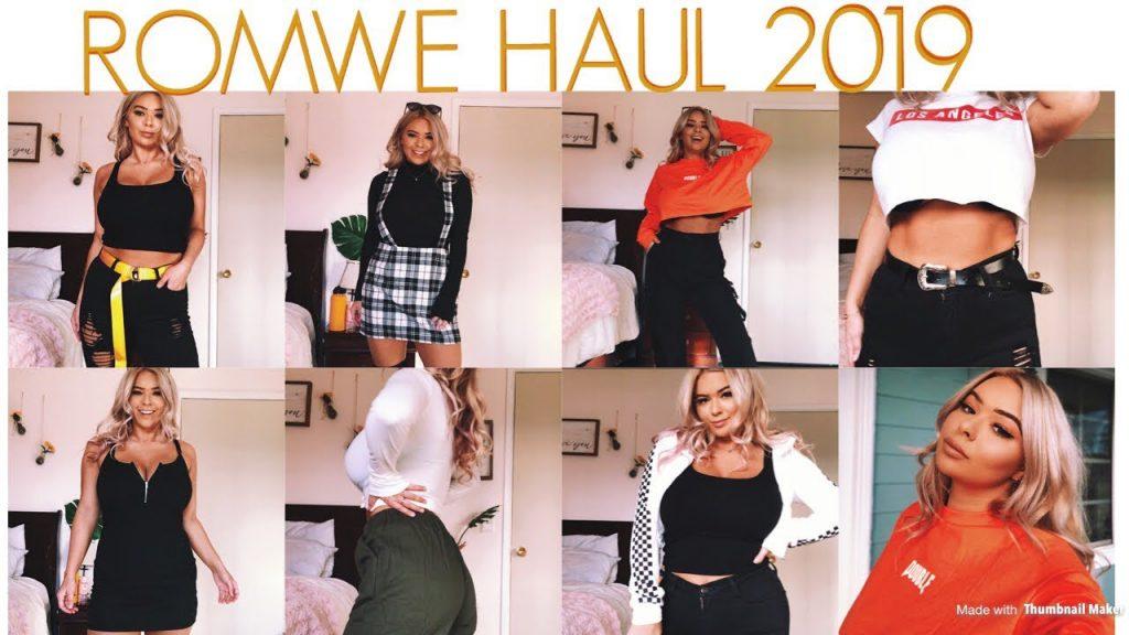 Romwe Haul 2019
