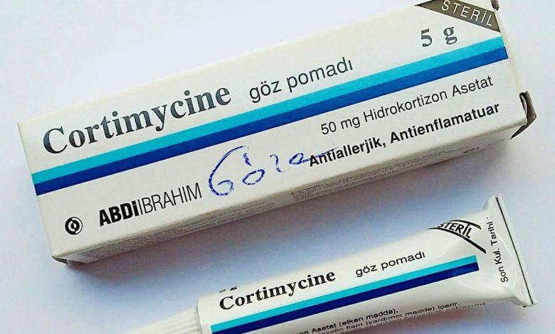 Cortimycine Göz Pomadı