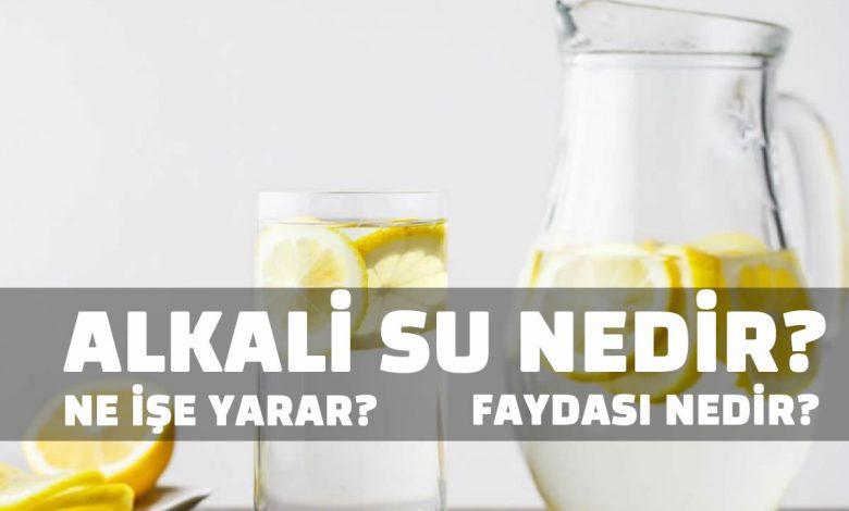 Alkali Su Nedir?