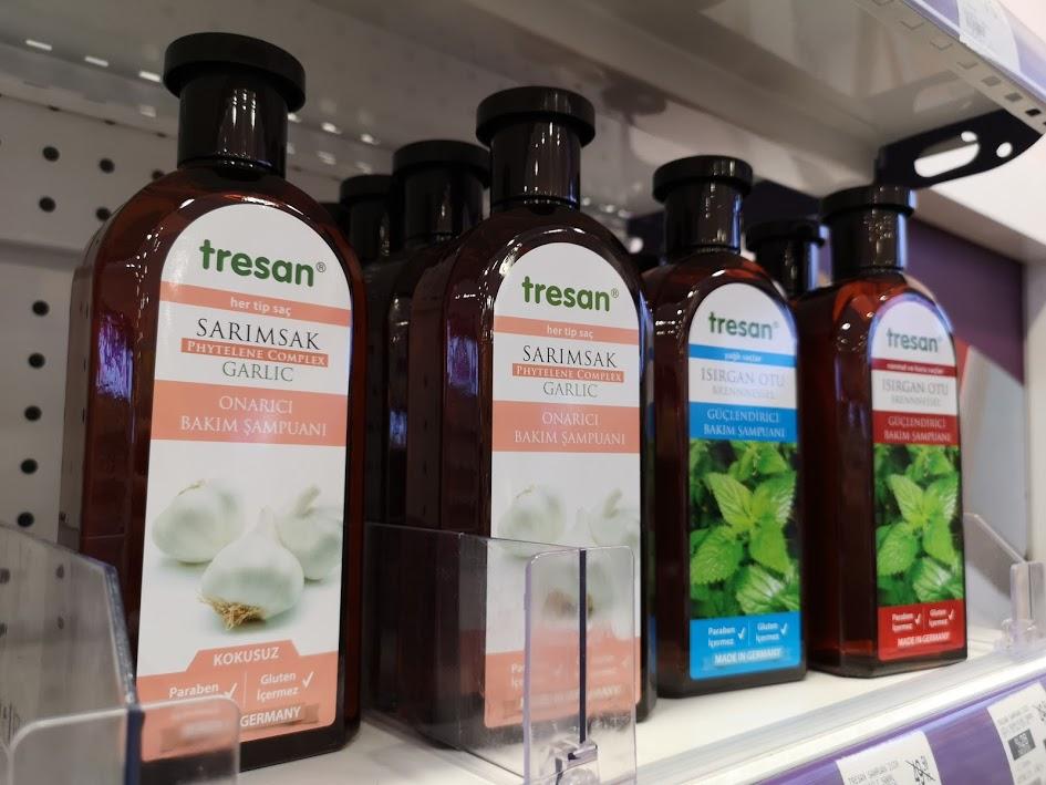 Tresan Sarımsak Onarıcı Bakım Şampuanı
