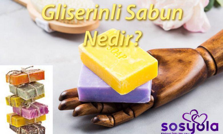 Gliserinli Sabun Nedir?