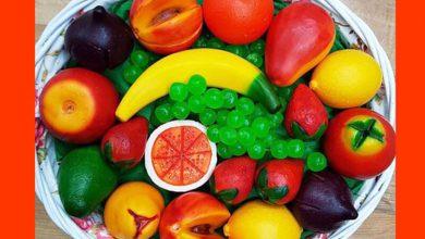 Meyve Görünümlü Sabunlar