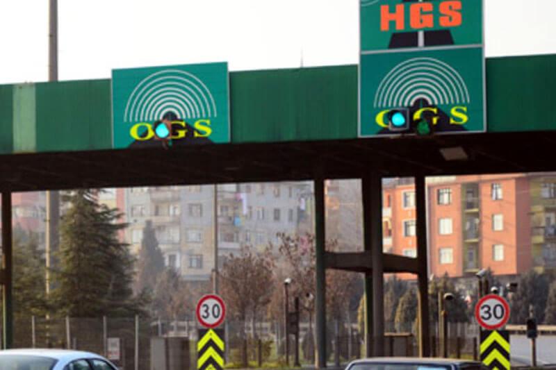 HGS sistemi Araç Sınıfları