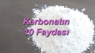 Karbonatın 10 Faydası