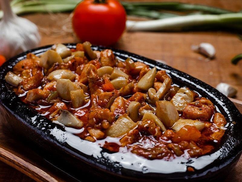 Mantarlı Tavuk Sote Tarifi Hazırlanışı