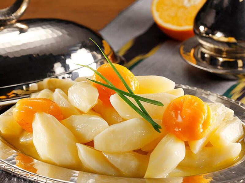 Portakallı Kereviz Hazırlanışı
