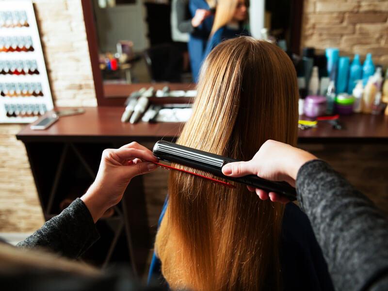 Saç Düzleştirici ile Saça Bukle Yapma