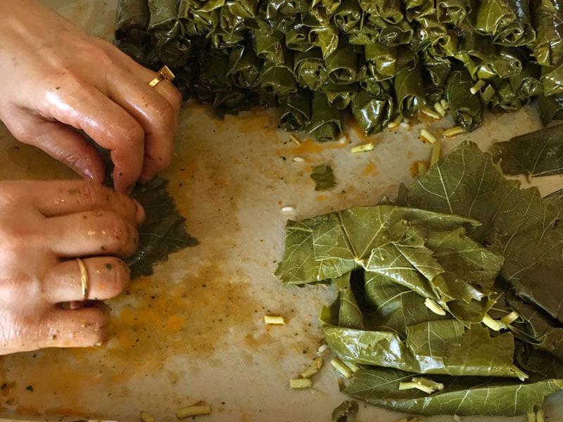Zeytinyağlı Yaprak Sarması Yapımı Püf Noktaları