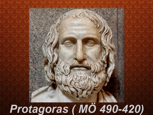 Protagoras Görüşü