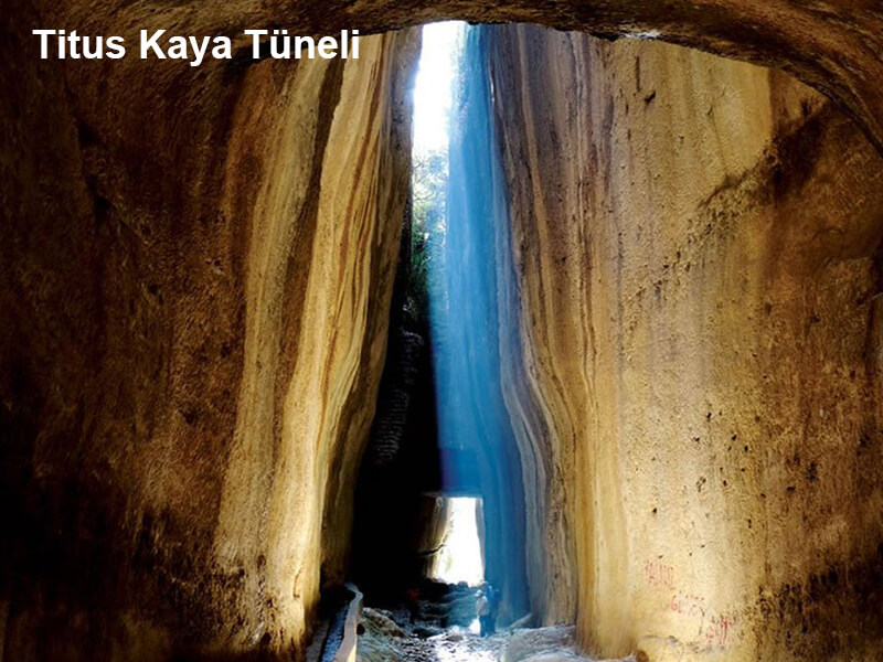 Titus Kaya Tüneli ( Vespasionus Tüneli)
