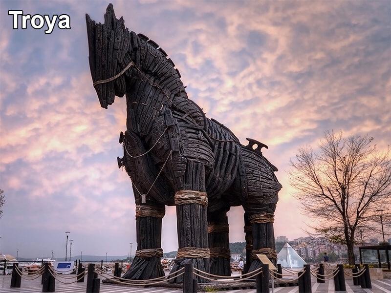 Troya (Truva) Antik Kenti