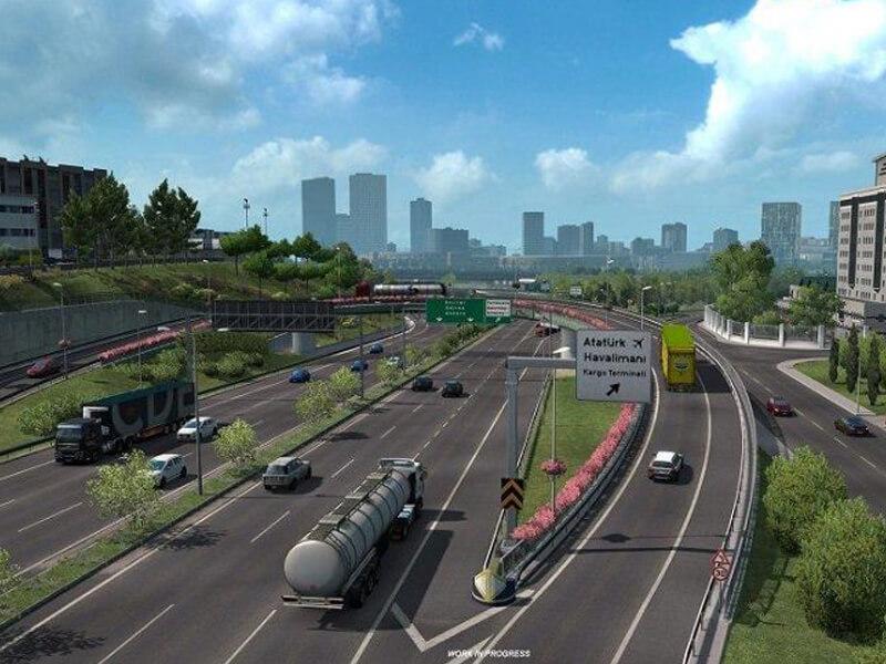 Euro Truck Simulator 2 Online Oyunu Talep Görüyor Mu?