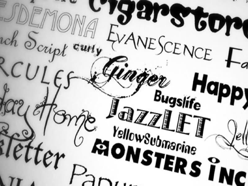 Photoshop Yazı Fontu Ekleme İçin Güzel Fontlar Nasıl Bulunur?
