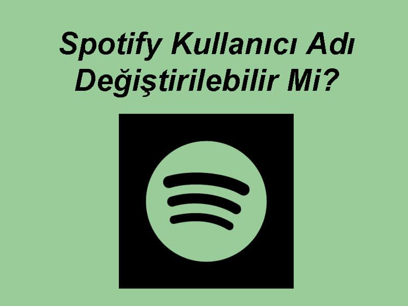 Spotify Kullanıcı Adı