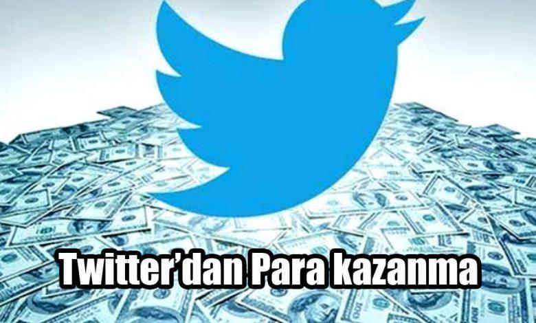 Twitter Para Kazanma