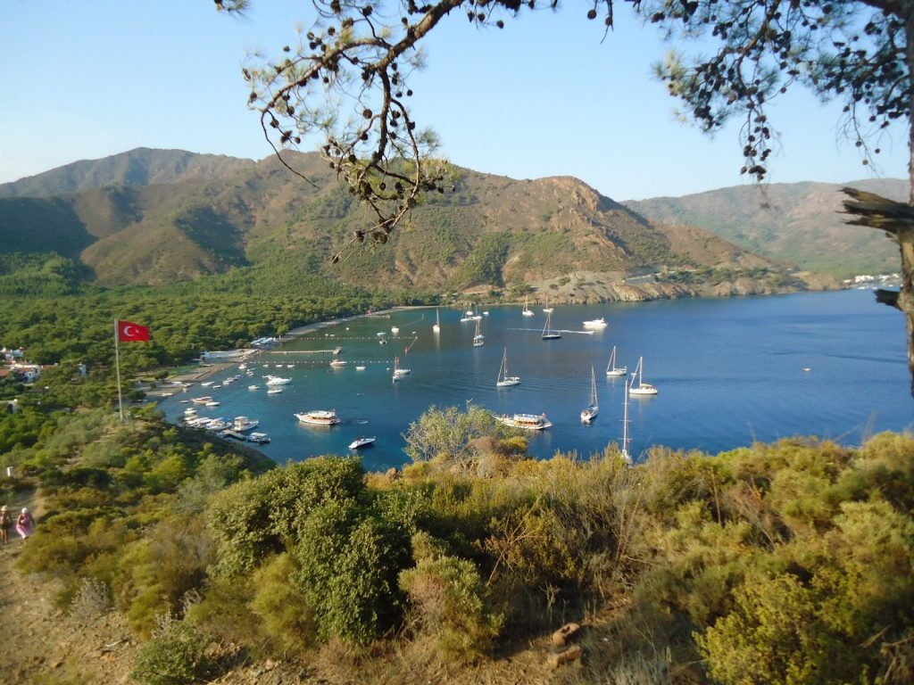datca camping