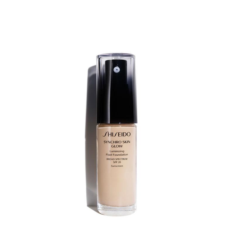 Shiseido Fondöten Synchro Skin Glow Luminizing Fluid Foundation Broad Spectrum SPF 20