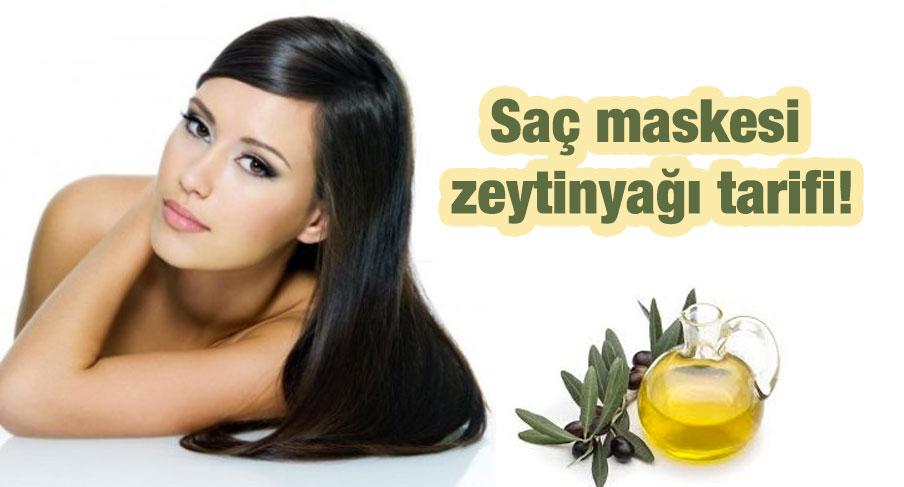 zeytinyağı ile saç bakımı