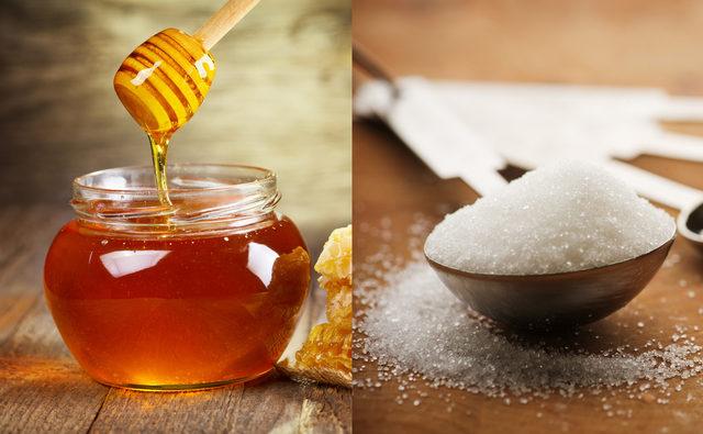 toz şeker ve bal faydaları