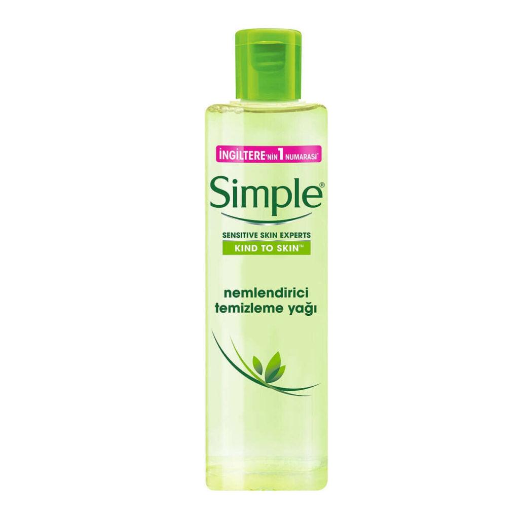 Simple Nemlendirici Temizleme Yağı