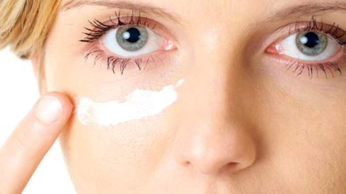 aromatik göz altı torbaları için maske