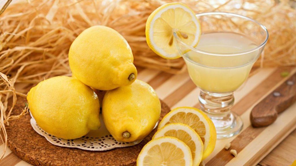 limon suyu ile tırnak beyazlatma