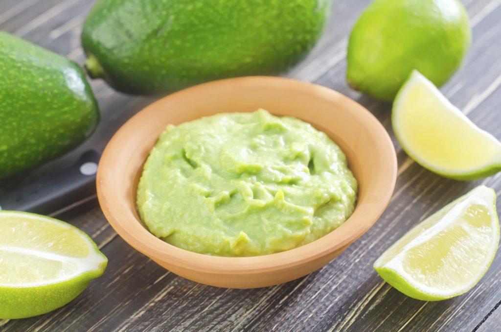 limon ve avokado maskesi
