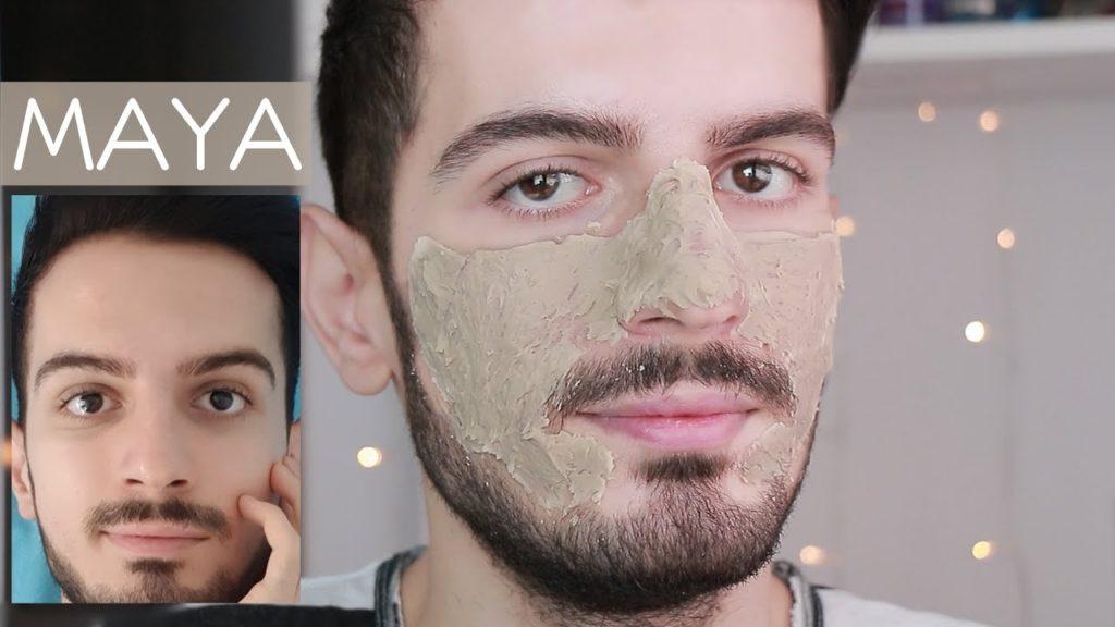 maya maskesi tarifi erkek