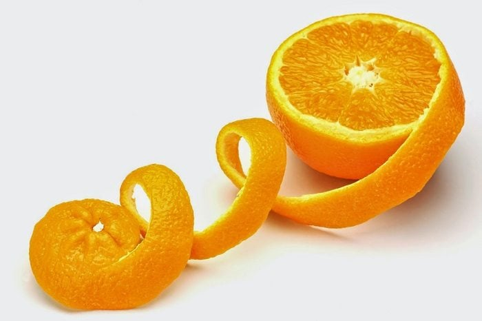 portakal suyu mısır unu maskesi