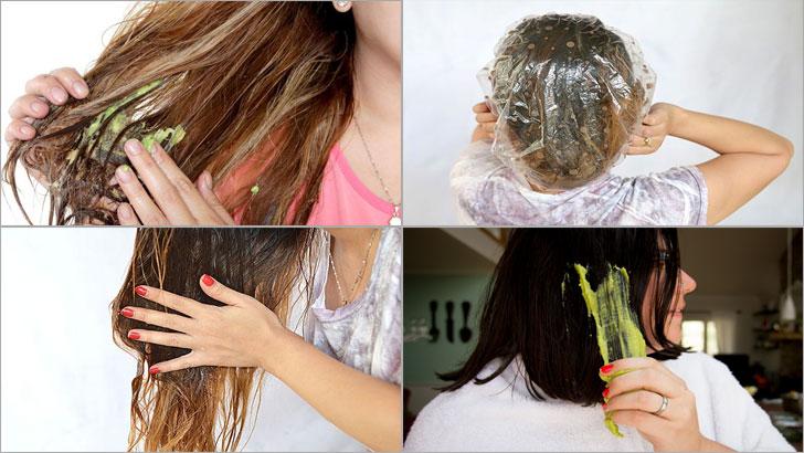 zeytinyağlı saç maskesi