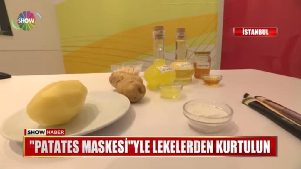 show haber patates maskesi tarifi