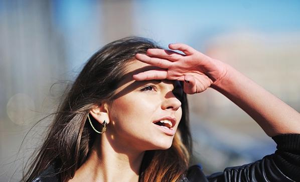gözleri güneşten korumak