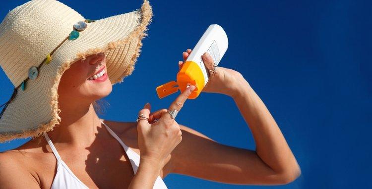 güneş koruyucu kullanımı