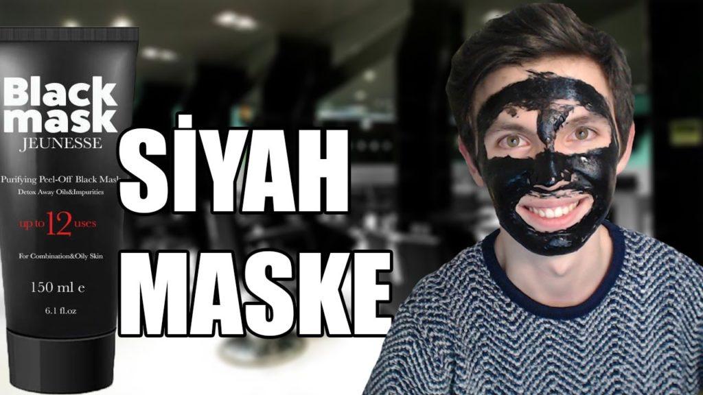 erkekler için soyulabilir maske