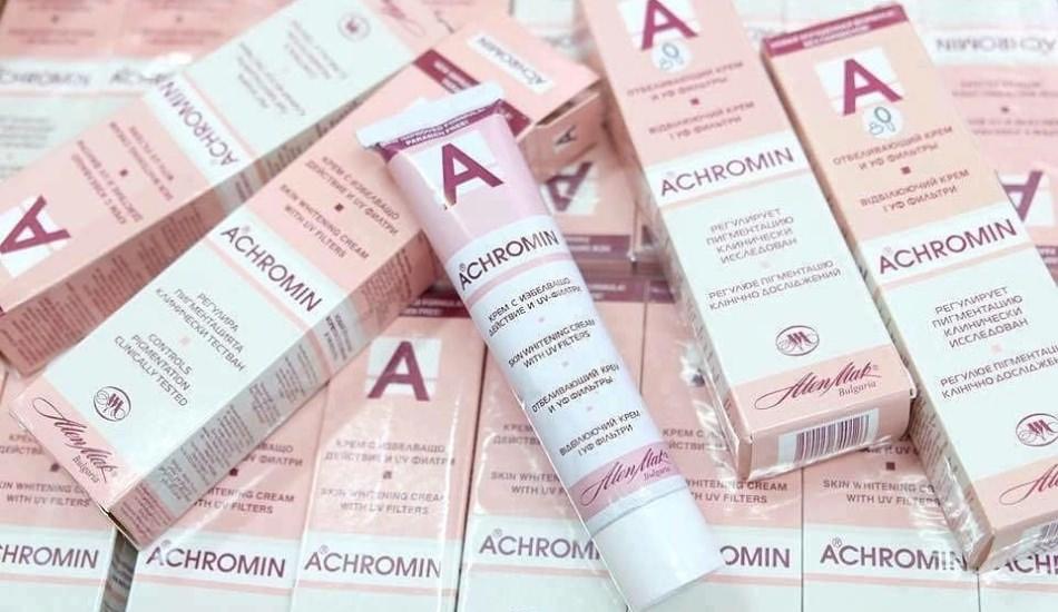 Achromin leke kremi nasıl kullanılır