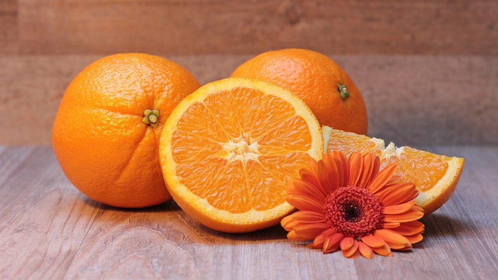 cilt lekeleri için portakal kabuğu maskesi