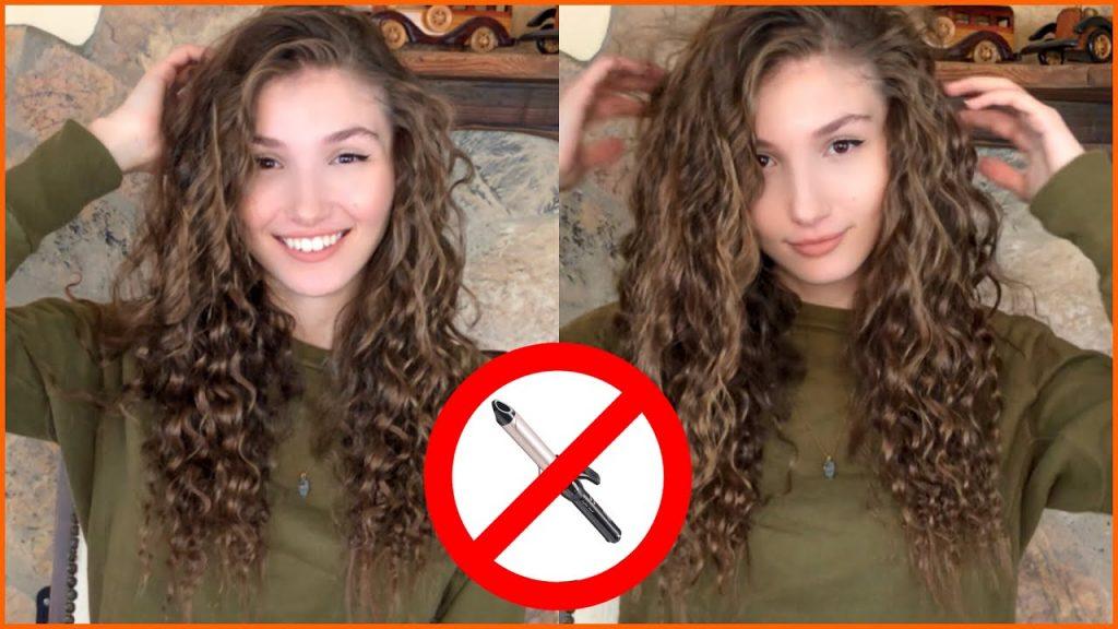 ilayda akdoğan ısı kullanmadan kıvırcık saçlar