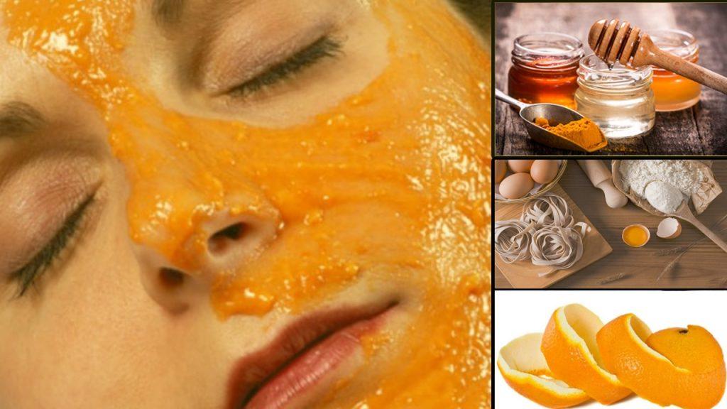 kuru ciltler için portakal kabuğu maskesi