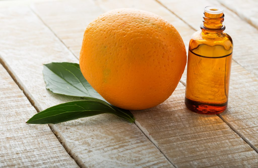 portakal kabuğu yağı
