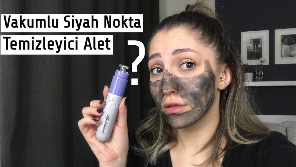 vakumlu yüz temizleme cihazı