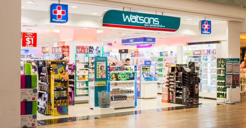 watsons mağazalarında satılan aromaterapi yağları