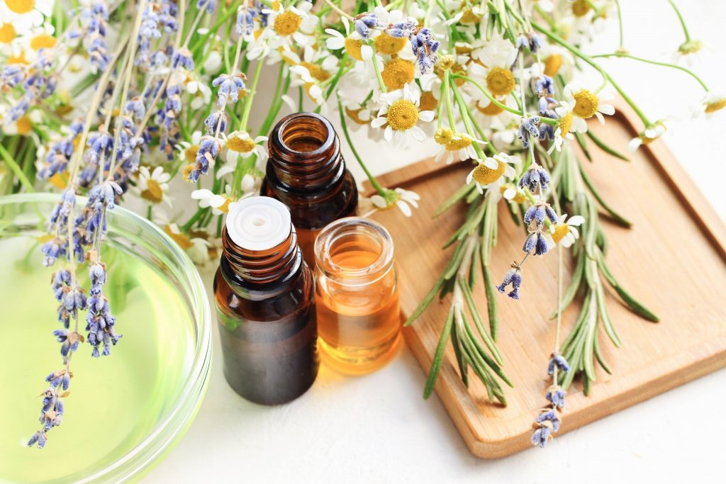 aromaterapide kullanılan yağlar