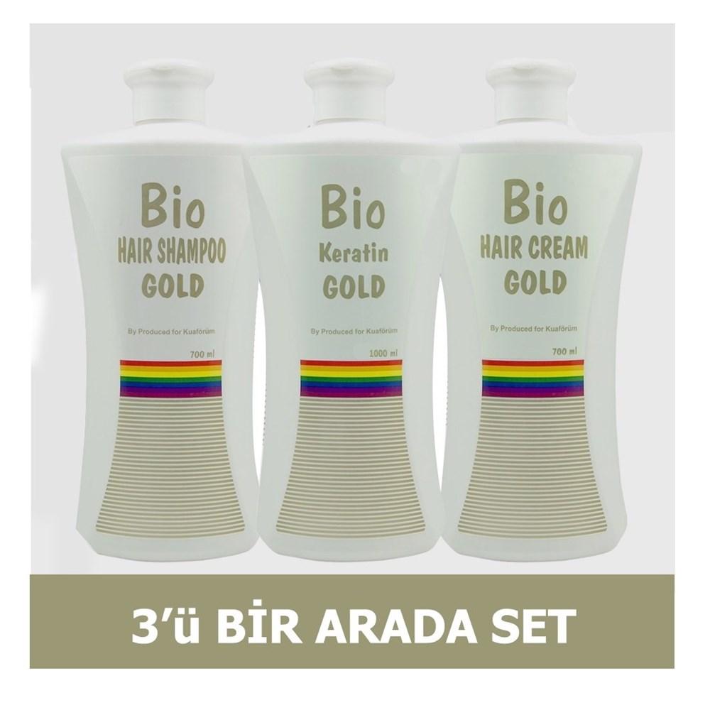 Bio keratin gold 3'lü set