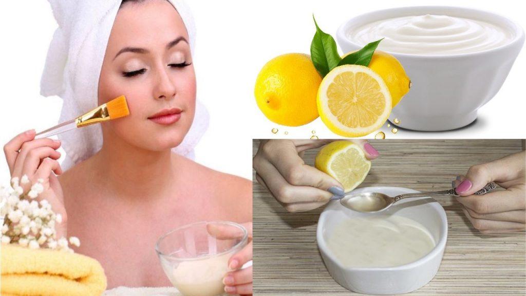 lekeler için limon maskesi