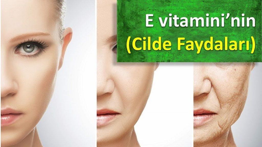E Vitamini Cilde Faydaları